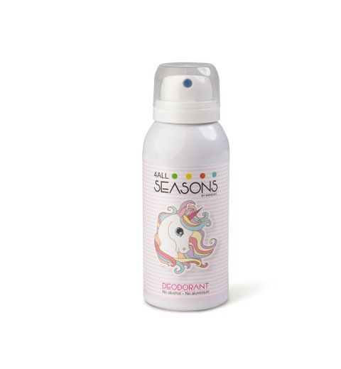 4all seasons Personal care products  Girls (deodorant roze) - Junior Steps