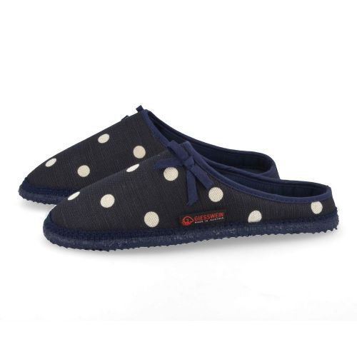 Giesswein Slippers Blue Girls (61/10/43099) - Junior Steps