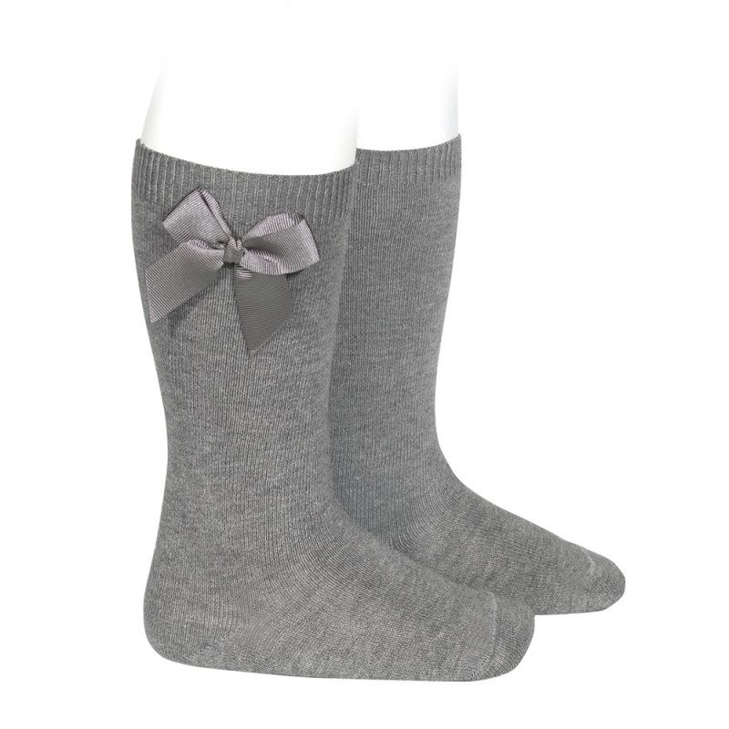 Condor Socks Grey Girls (2.482/2 col.230) - Junior Steps
