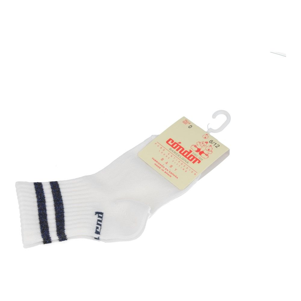 Condor Socks wit  (2610/4 col.048) - Junior Steps